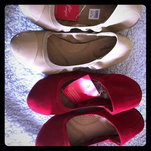 2 pairs for 1 flats